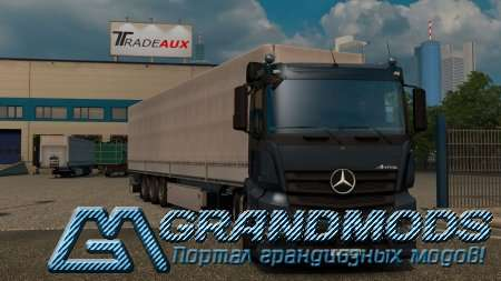 Mercedes Benz Antos by DANZ  для ETS2 1.23.х