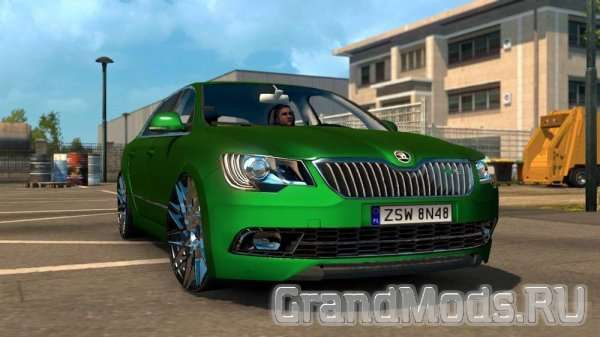 Skoda Superb RS Edition для ETS2