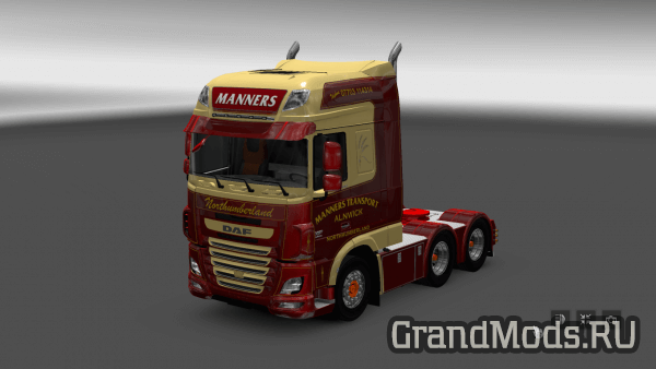 Manners Transport DAF E6 для ETS2