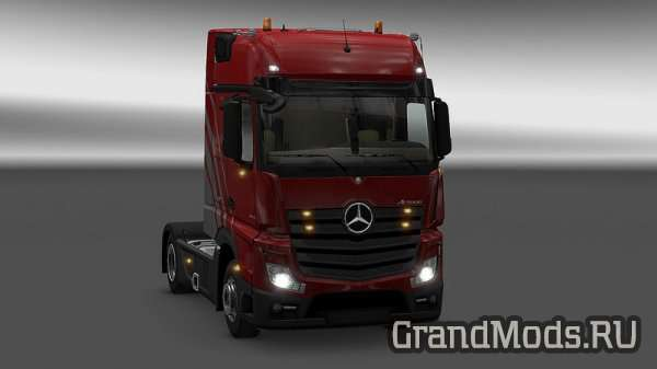 MERCEDES ACTROS MP4 PLASTIC PARTS  V3.10 [ETS2 1.25]