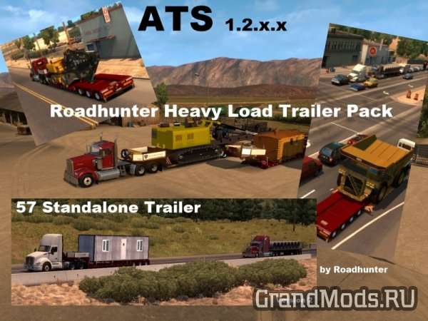 Roadhunter  Heavy Load Trailer Pack для ATS