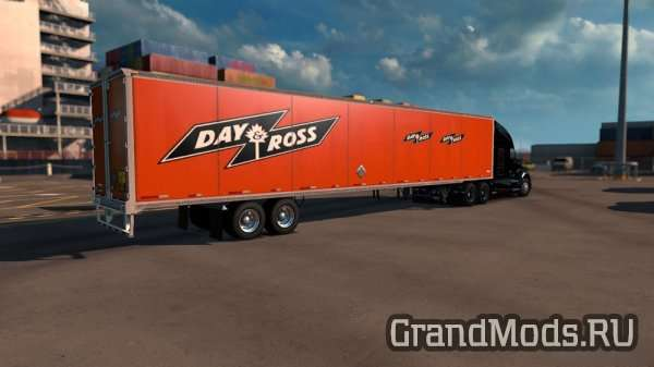 Wabash Duraplate Dryvan Trailer with Skins [ATS]