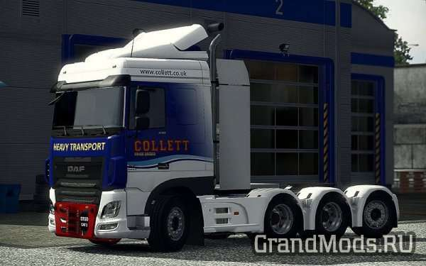 HEAVY HAULAGE CHASSIS ADDON FOR DAF XF EURO 6 BY OHAHA