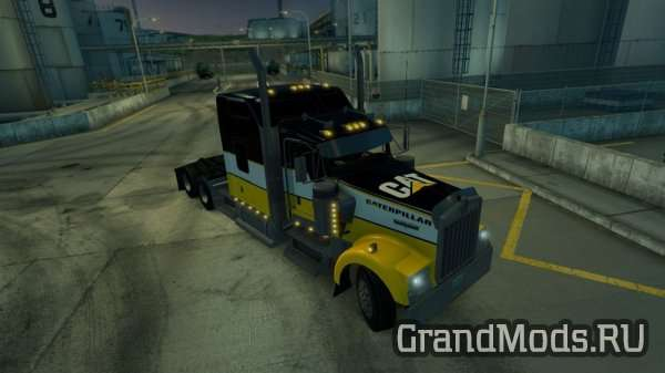 Kenwort W900 Skin CAT (Caterpillar) Skin