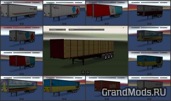 ATS TRAILERS PACK V1.2