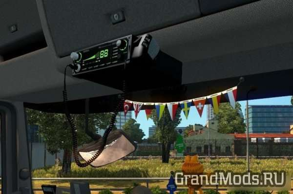 Freightliner Classic V4.1.24 SiSL & SCS cabin accessories addon