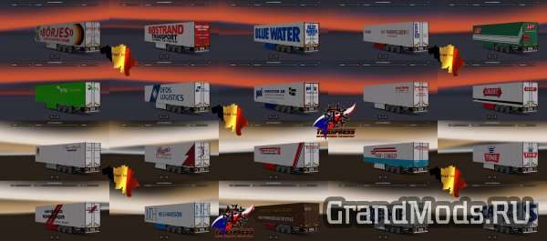 TRAILER PACK SCANDINAVIA [ETS2 1.23 /1.24]