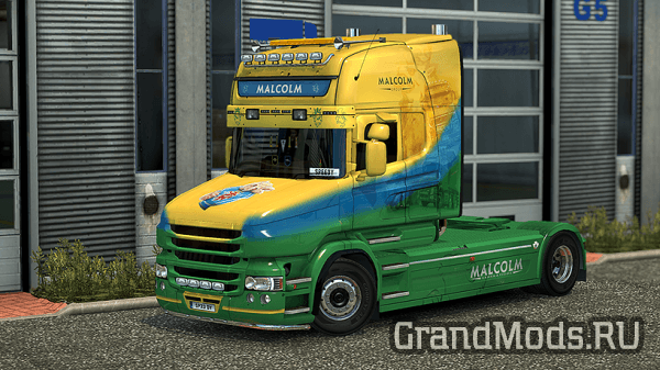 Scania T RJL Malcolm Construction Skin