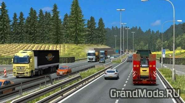 TRAFFIC DENSITY V 1.6 [ETS2 1.24] (RELEASE)