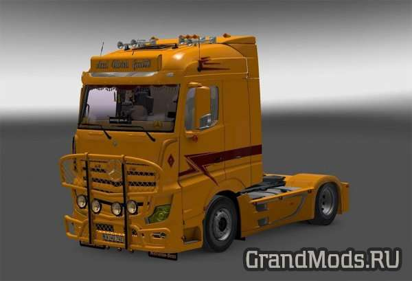 Mercedes Actros MP4 Axel Ulrich