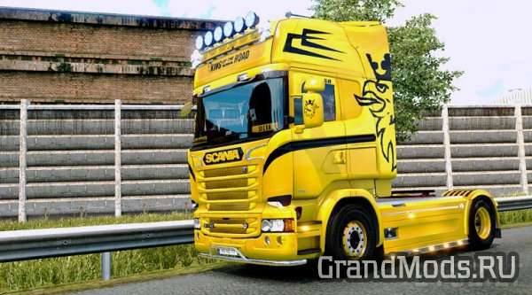 Scania RJL King Of The Road Custom Skin