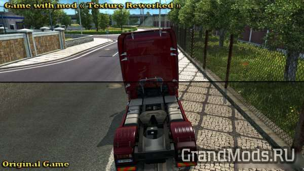 Texture Reworked v 2.2 [ETS2 1.24]