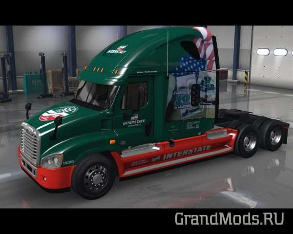 Pack 15 repaints for Freightliner Cascadia v 1.1 edited by Solaris36