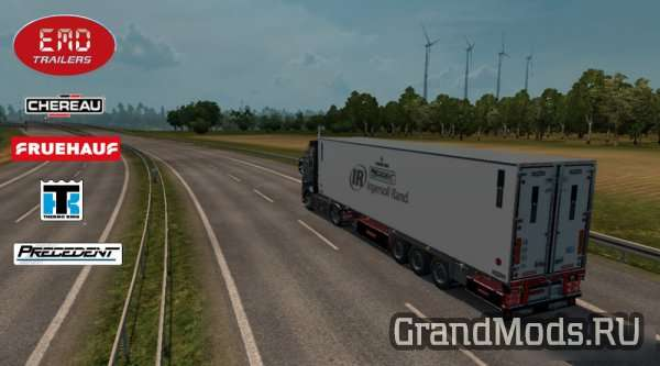 Trailer Chereau with New Thermo King