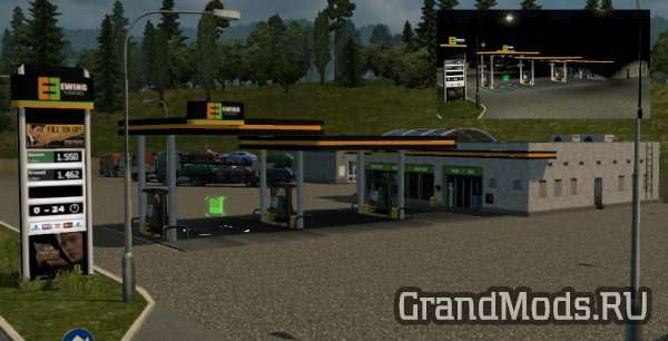 Realistic Gas Stations [ETS2]