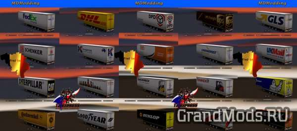 Trailer Pack Jumbo V1.24 (UPDATE) [ETS2]