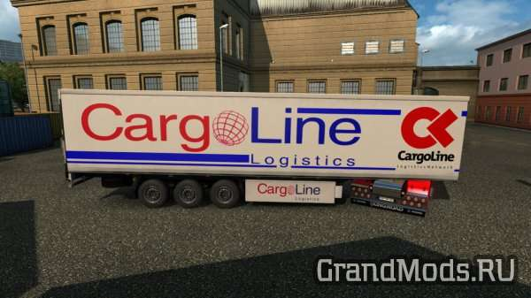 Logistic Trailer Pack [ETS2 1.24]