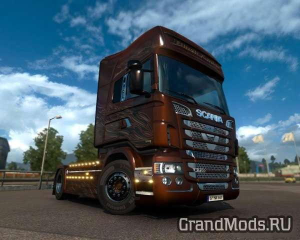 Lux Accessory for SCANIA RJL (V0.9.3 BETA) [ETS2]
