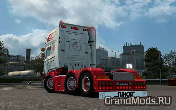 Scania RJL Rear Mudflap Pack [ETS2]
