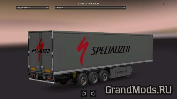 Trailers Bicycle and Parts Skin Pack [ETS2]