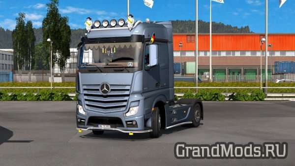MERCEDES BENZ MP4 V1.2 [ETS2]