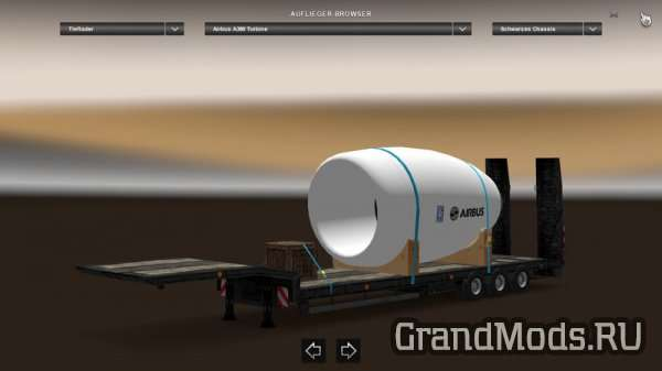Airbus A380 Turbine Trailer v 1.2 [ETS2]