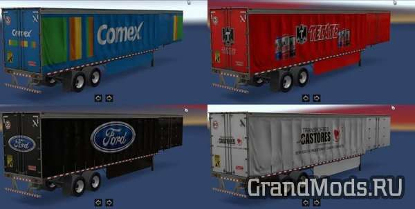 Skins Trailers Mexico-USA Companies 1.2 [ATS]