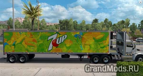 7up reefer trailer [ATS]