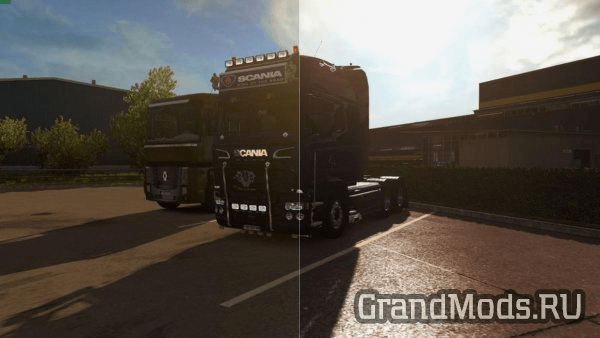 SweetFX ETS2 Improved graphics [ETS2]