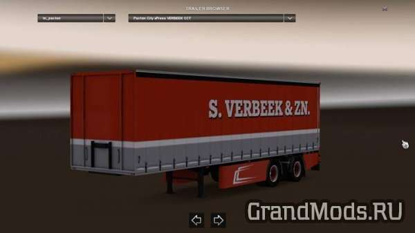 Scania R440 Streamline S.Verbeek & Pacton Trailer [ETS2]