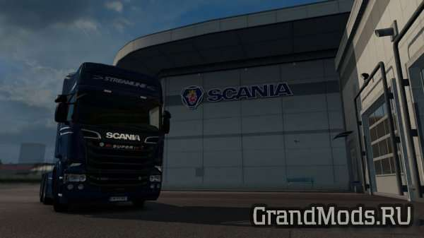 Scania Streamline RJL Paintable [ETS2]