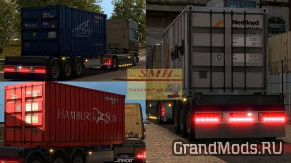 CONTAINER PACK V1.0 [ETS2]