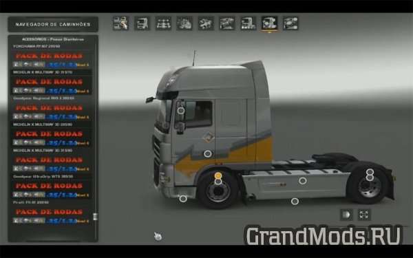 WHEEL PACK [ETS2 1.25.X]