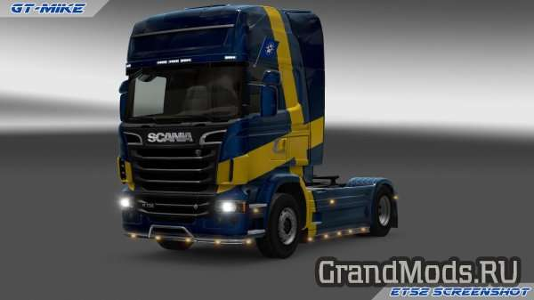 GT-Mods SCS Scania Reworked and Fixed V2.0 [ETS2]