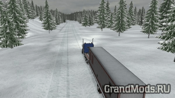 DALTON & ELLIOT HWY EXTREME WINTER MAP V1.2 [ATS]