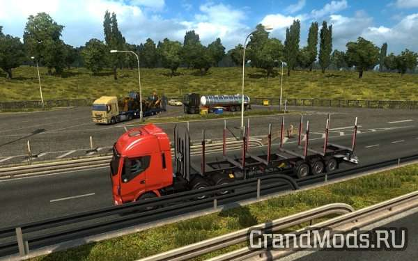 Schwarzmuller Trailers in Traffic [ETS2]