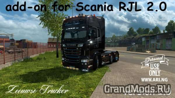 Scania RJL 2.0 Add-on [ETS2]
