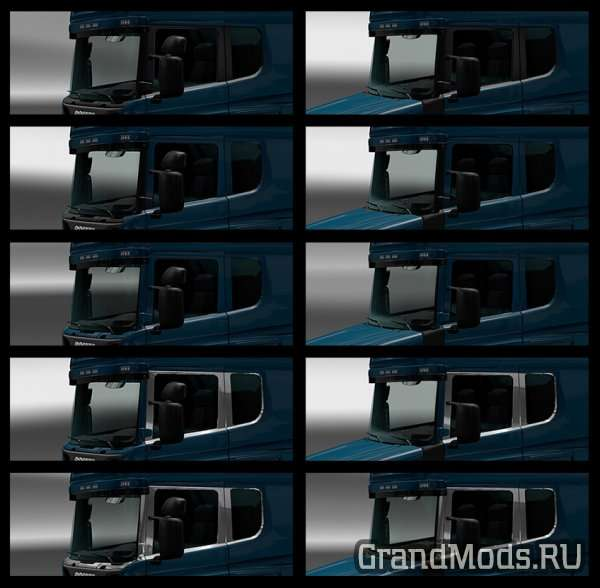Scania RJL Side windows  v2.0