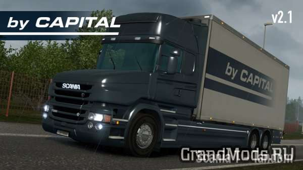 Scania T Tandem - ByCapital v 2.1 [ETS2]