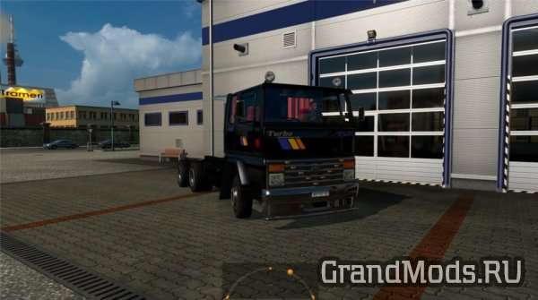 FORD CARGO 2520 V4 FIXED [ETS2]