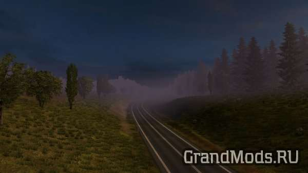 Foggy Weather + Weather by piva [ETS2]