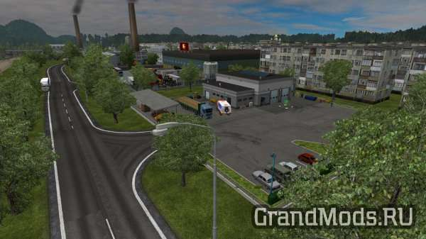 Realistic Graphics&Weather 1.5.1 [ETS2]