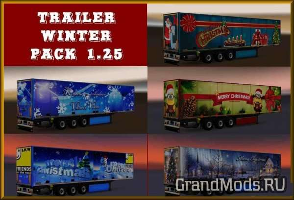 TRAILER WINTER PACK 1.25 [ETS2]