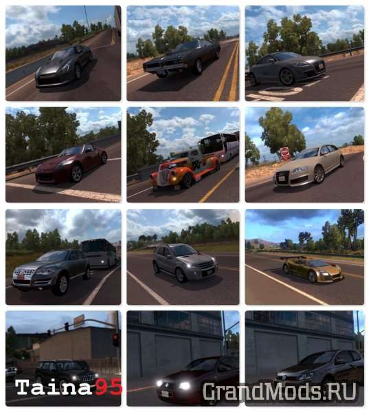 AI TRAFFIC MOD PACK 1.4.2 [ATS]