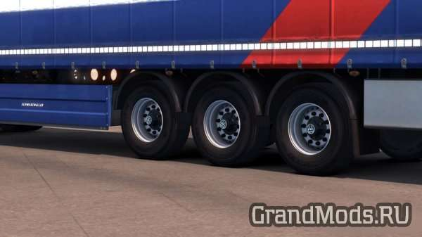 Trailer Wheels for SCS Trailers [ETS2]