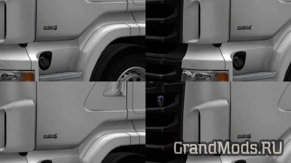 EURO badges for RJL Scania RS [ETS2]
