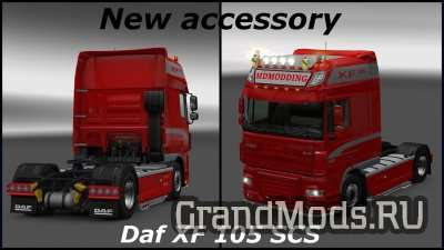 NEW ACCESSORIES FOR DAF XF 105 [ETS2]