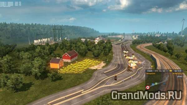 Hard Truck Map v0.5 (DPMap) [ETS2]