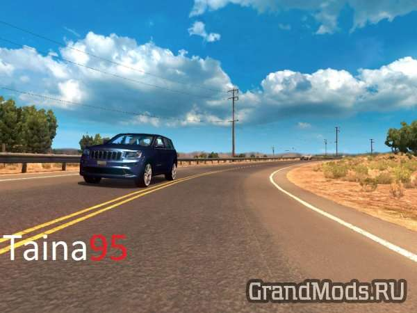 Jeep Grand Cherokee Srt8 v1.2 для ATS