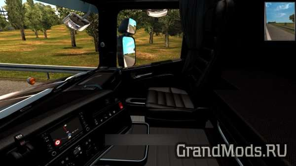 Pack Full Black Interior Scania R & T RJL [ETS2]